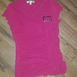 Moa Moa fited pink top